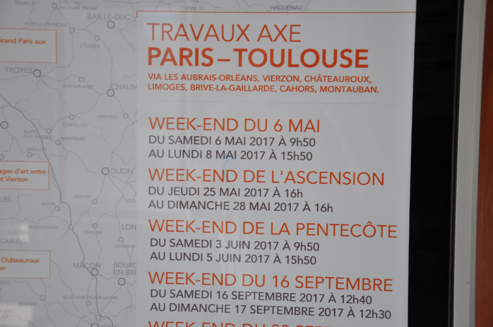 Week end de l ascension sans trains sur la ligne polt tous ensemble pour les gares - Week end de l ascension 2017 ...