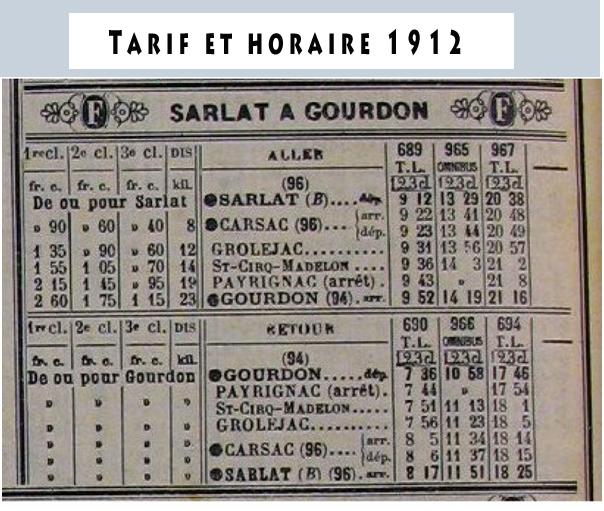 tarif horaie 1912