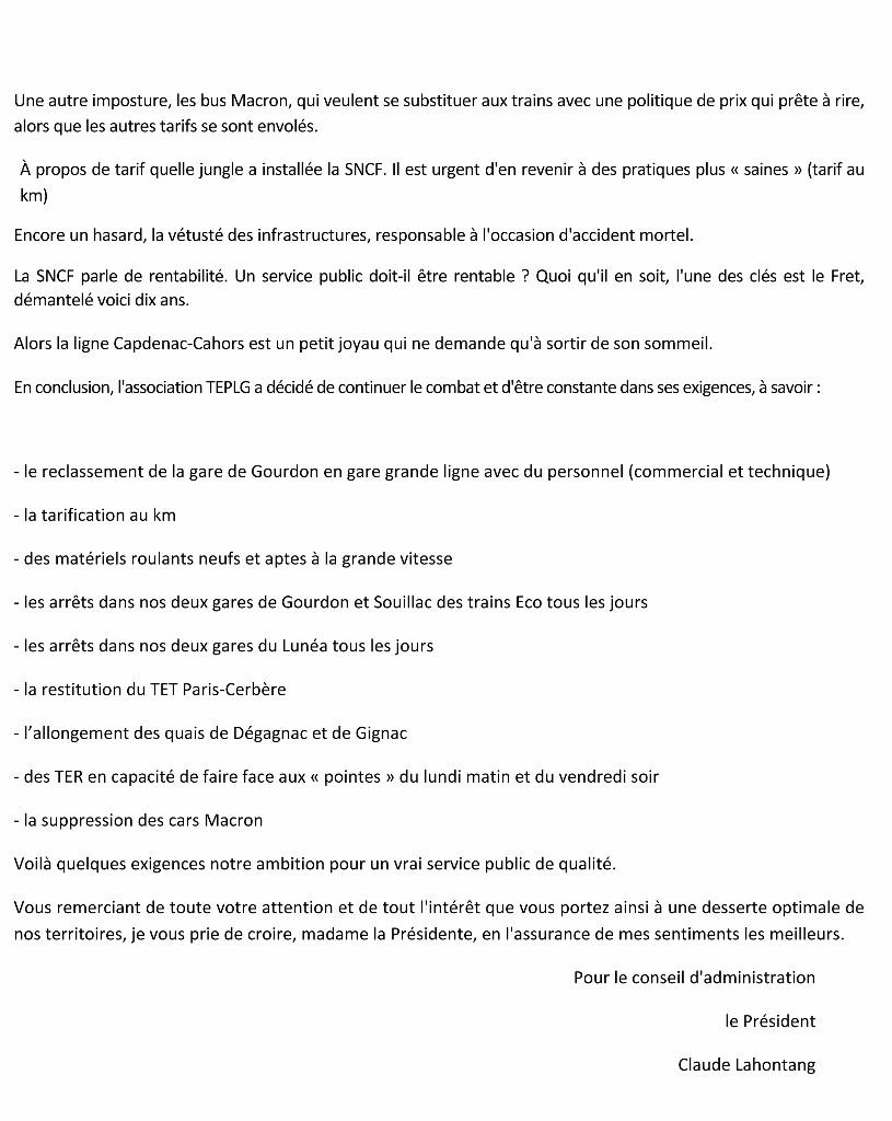 Microsoft Word - Lettre à Madame Delga